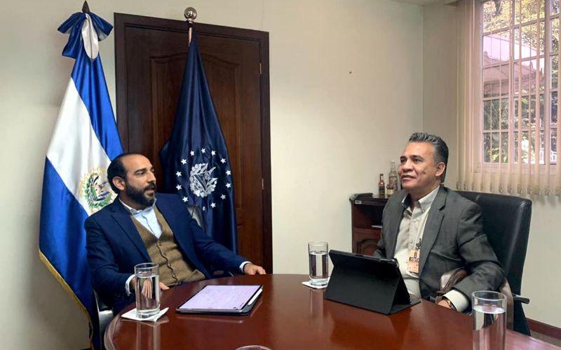 Visita empresarial con Comisionado Presidencial de El Salvador